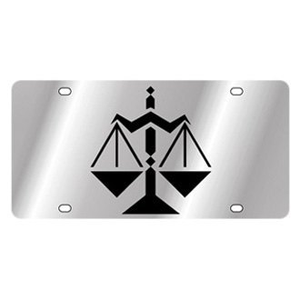 Eurosport Daytona® - Zodiac License Plate with Libra Logo