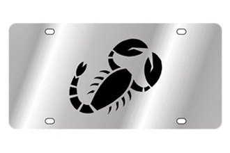 Eurosport Daytona® - Zodiac - License Plate with Scorpio Logo