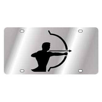 Eurosport Daytona® - Zodiac License Plate with Sagittarius Logo