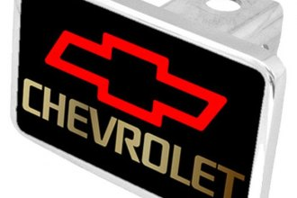 Eurosport Daytona® - General Motors Black Premium Hitch Plug with Chevrolet Logo