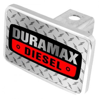 Eurosport Daytona® - General Motors Diamond Premium Hitch Plug with Duramax Diesel Badge