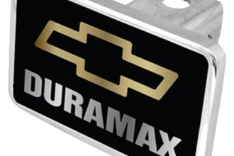 Eurosport Daytona® - General Motors Black Premium Hitch Plug with Duramax Logo