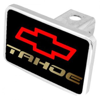 Eurosport Daytona® - General Motors Black Premium Hitch Plug with Tahoe Logo