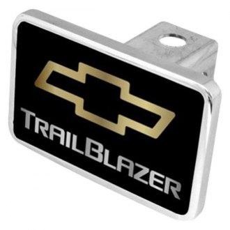 Eurosport Daytona® - General Motors Black Premium Hitch Plug with Trailblazer Logo