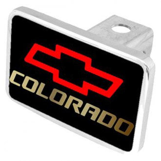 Eurosport Daytona® - General Motors Black Premium Hitch Plug with Colorado Logo