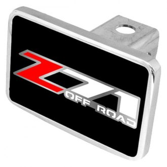 Eurosport Daytona® - General Motors Black Premium Hitch Plug with Z-71 Off Road Logo