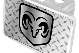 Eurosport Daytona® - MOPAR Diamond Premium Hitch Plug with Dodge Logo
