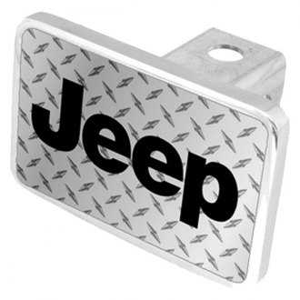 Eurosport Daytona® - MOPAR Diamond Premium Hitch Plug with Jeep Logo