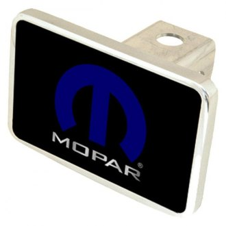 "Eurosport Daytona® - MOPAR Premium Hitch Cover with Mopar Logo for 2"" Receivers"