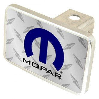 Eurosport Daytona® - MOPAR Diamond Premium Hitch Plug with Mopar Logo