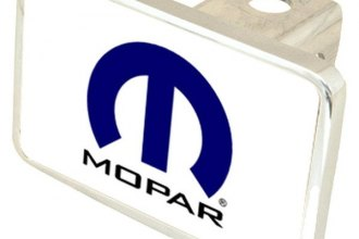 Eurosport Daytona® - MOPAR Black Premium Hitch Plug with Mopar Logo