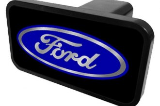 Eurosport Daytona® - Ford Motor Company Europlug Hitch Plug with Built Ford Tough Logo