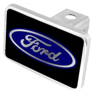 Eurosport Daytona® - Ford Motor Company Black Premium Hitch Plug with Ford Logo