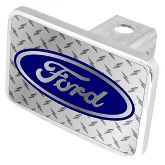 Eurosport Daytona® - Ford Motor Company Diamond Premium Hitch Plug with Ford Logo