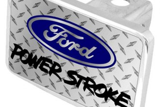 Eurosport Daytona® - Ford Motor Company Diamond Premium Hitch Plug with Power Stroke Logo