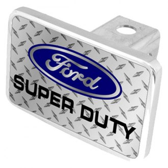 Eurosport Daytona® - Ford Motor Company Diamond Premium Hitch Plug with Super Duty Logo