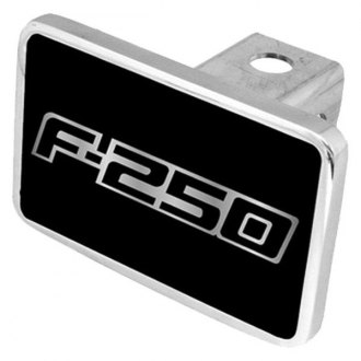 "Eurosport Daytona® - Ford Motor Company Black Premium Hitch Cover with F-250 Logo for 2"" Receivers"