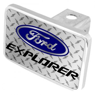Eurosport Daytona® - Ford Motor Company Diamond Premium Hitch Plug with Explorer Logo