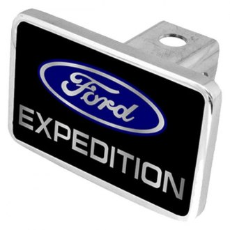 Eurosport Daytona® - Ford Motor Company Black Premium Hitch Plug with Expedition Logo