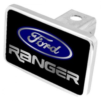 Eurosport Daytona 8516XL-1 - Ford Motor Company Black Premium Hitch Plug with Ranger Logo