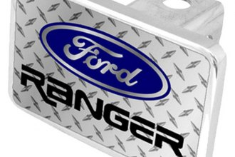 Eurosport Daytona® - Ford Motor Company Diamond Premium Hitch Plug with Ranger Logo