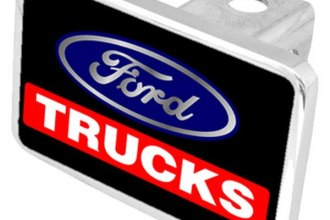 Eurosport Daytona® - Ford Motor Company Black Premium Hitch Plug with Trucks Logo