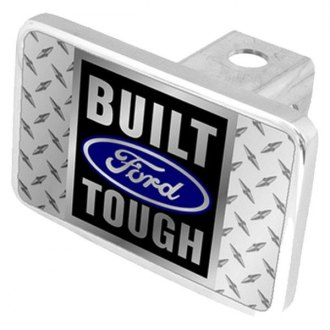 "Eurosport Daytona® - Ford Motor Company Hitch Cover with Built Ford Tough Logo for 2"" Receivers"