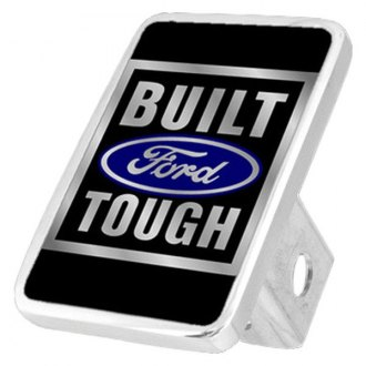 Eurosport Daytona® - Ford Motor Company Black Premium Hitch Plug with Built Ford Tough Logo