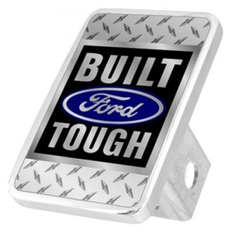 Eurosport Daytona® - Ford Motor Company Diamond Premium Hitch Plug with Built Ford Tough Logo
