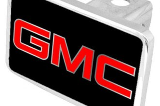 Eurosport Daytona® - General Motors Black Premium Hitch Plug with GMC Logo