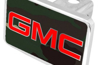Eurosport Daytona® - General Motors Green Camouflage Premium Hitch Plug with GMC Logo