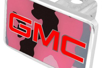 Eurosport Daytona® - General Motors Pink Camouflage Premium Hitch Plug with GMC Logo