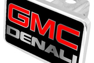 Eurosport Daytona® - General Motors Black Premium Hitch Plug with Denali Logo