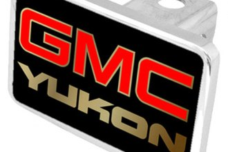 Eurosport Daytona® - General Motors Black Premium Hitch Plug with Yukon Logo