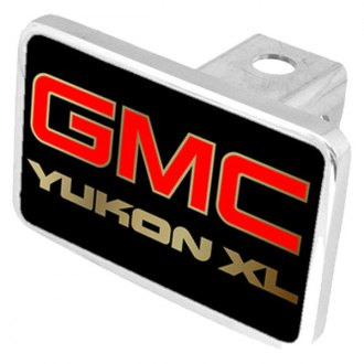 Eurosport Daytona® - General Motors Black Premium Hitch Plug with Yukon XL Logo