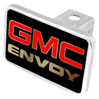 Eurosport Daytona® - General Motors Black Premium Hitch Plug with Envoy Logo