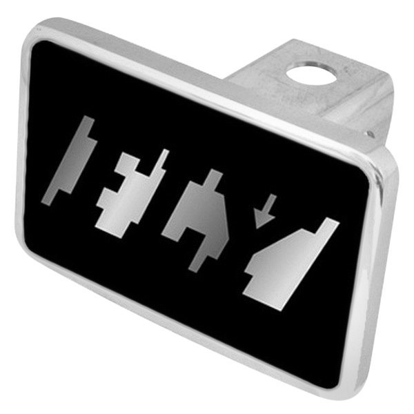 "Eurosport Daytona® - LSN Black Premium Hitch Cover with FLY Logo for 2"" Receivers"