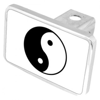 Eurosport Daytona® - LSN Black Premium Hitch Plug with Yin Yang Logo