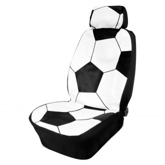 Eurow® - Varsity Soccer Ball Seat Cover with Headrest Cover