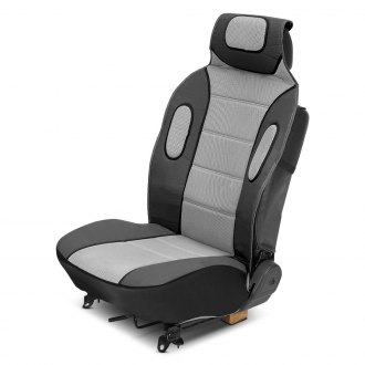 Eurow® - Sideless Sport Gray Seat Covers