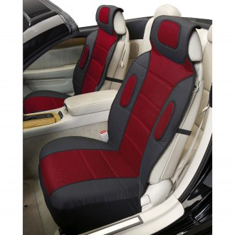Eurow® - Sideless Sport Red Seat Covers