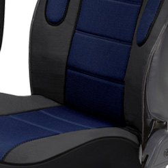 Eurow® - Sideless Sport Seat Cover Blue