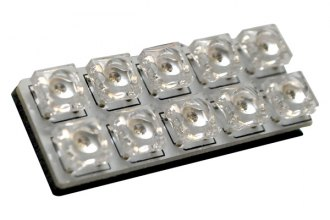 EVO Lighting® - LED Ultra-White Interior Mega Dome Light