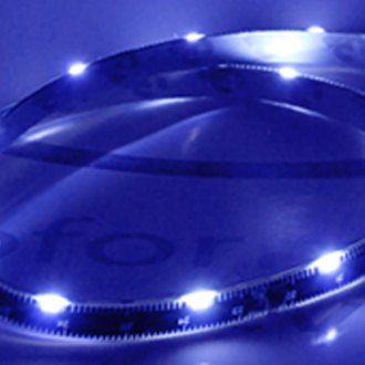 EVO Lighting® - LED Blue Sidewinder Eyebrows