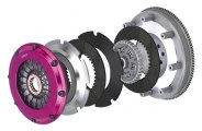 EXEDY® - Stage 4 Twin-Plate Carbon Disc with Sprung Center Racing Clutch Kit
