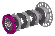 EXEDY® - Stage 5 Triple-Plate Racing Clutch Kit with Sprung Center
