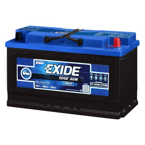 Exide BMW Series Edge AGM Battery - Bmw 3 series battery