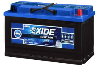 Exide® FP-AGML4/94R - Edge™ Group L-4/94R Flat Plate AGM Automotive Battery