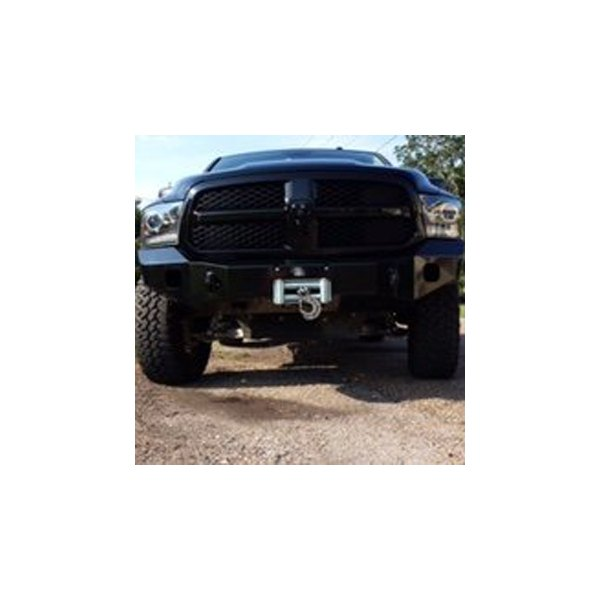 Expedition One® - RangeMax Full Width Front HD Black Powder Coat Bumper