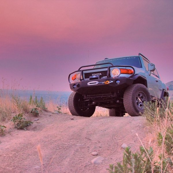 Expedition One Bumper Fj Cruiser : Expedition one toyota fj cruiser trail series full